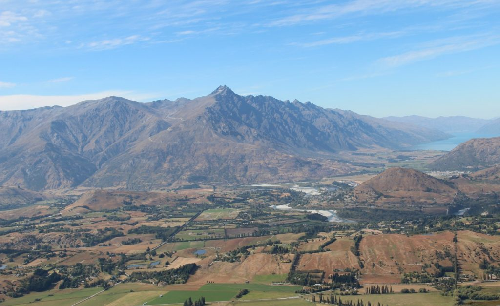 View of The Remarkables, NZ