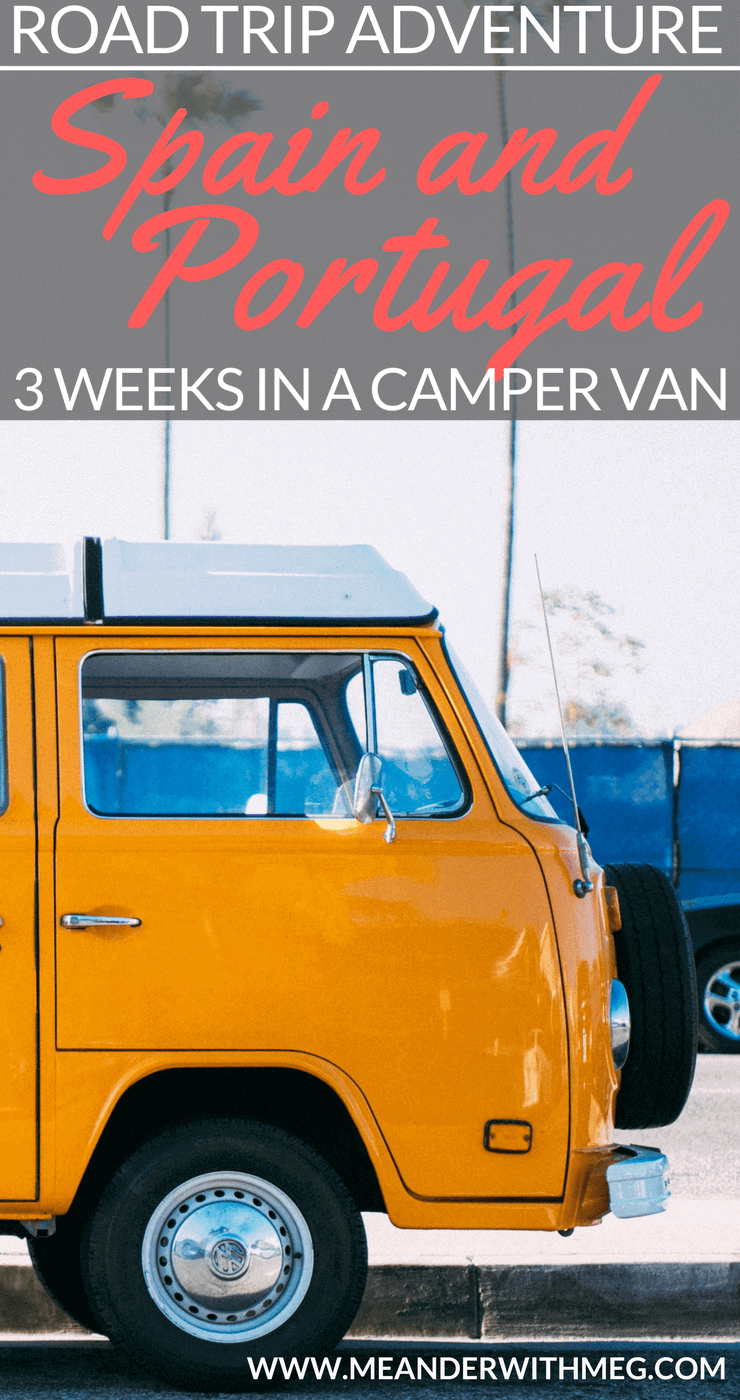 Here's my summary of a three week road trip in Spain and Portugal. Read on if you're interested in wild camping, wine, beautiful destinations and camper van life | Travel guide | Travel planning | Road trip tips | Vanlife | Camping | Europe | Summer holiday ideas | Destinations | Holiday planning