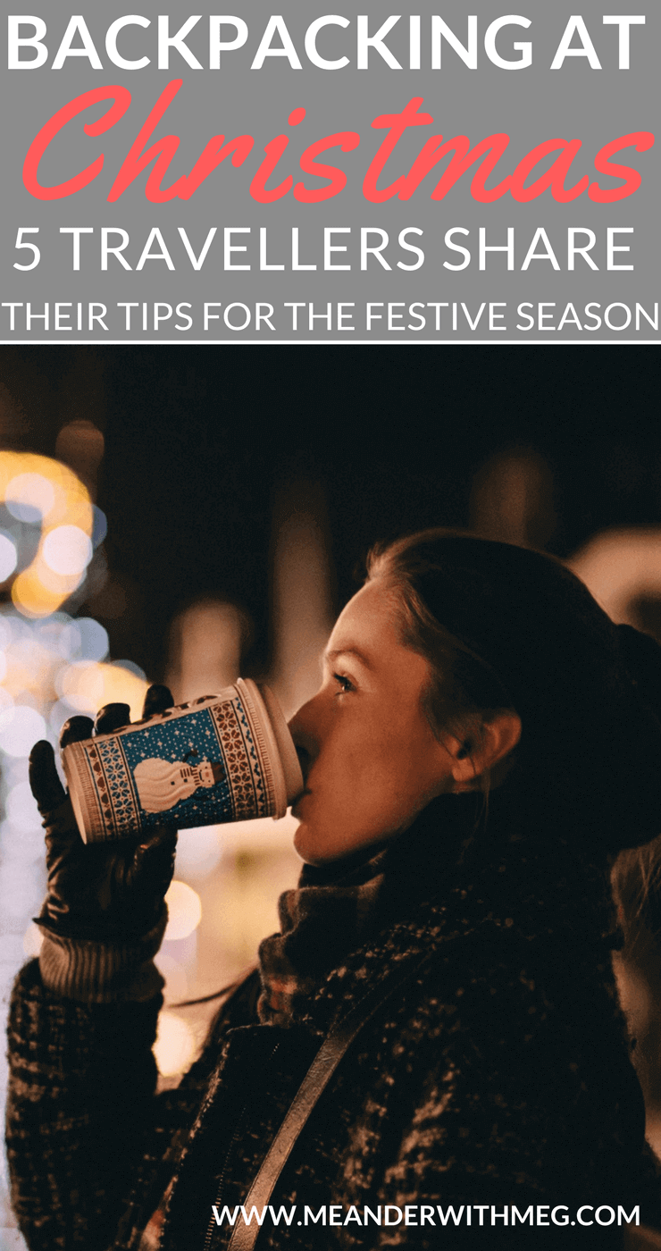 Are you spending your first Christmas abroad backpacking? What is that going to feel like as a solo traveller alone during in the festive season?   Solo travel   backpacking   travel tips and tricks   travel hacks   travel guide  