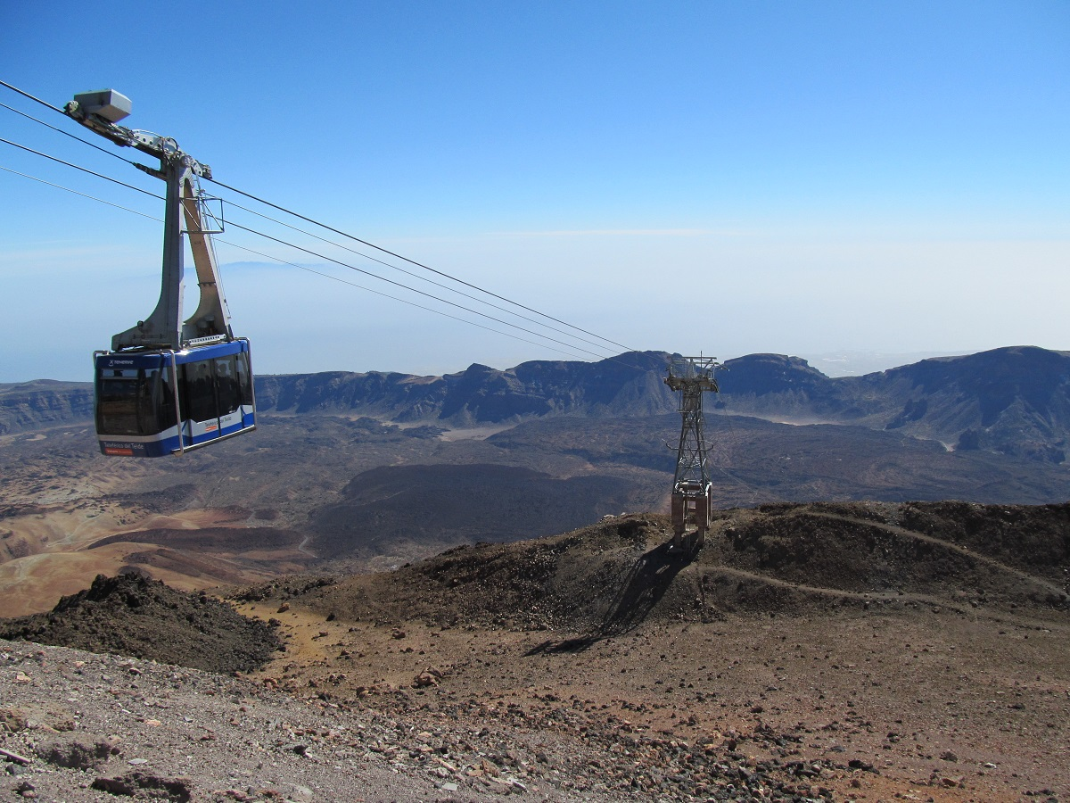 Mount-Teide-volcano-cable-car-Tenerife-view