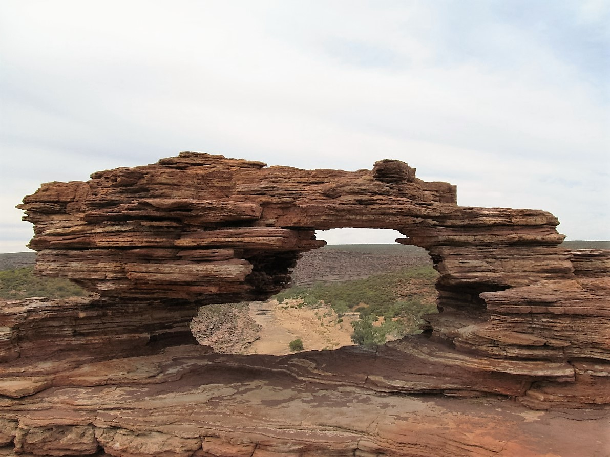 Kalbarri-national-park-natures-window-rock-western-australia