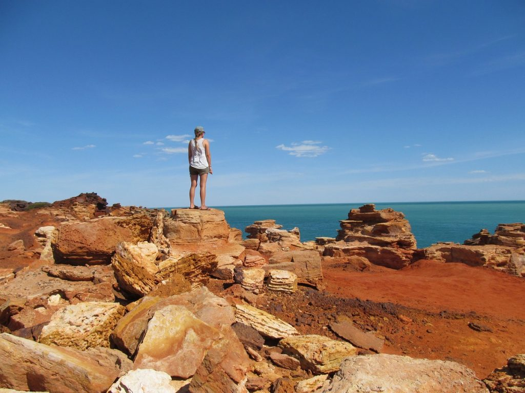 Dinosaur Footprints Gantheaume Point Broome