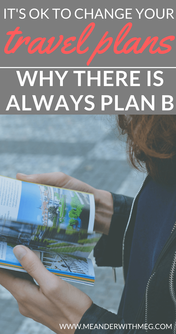 Do you stick to your travel plan or do you often find that your plans change as you travel? Knowing that you can often be flexible with your expectations and plans will help you to have a stress-free holiday.