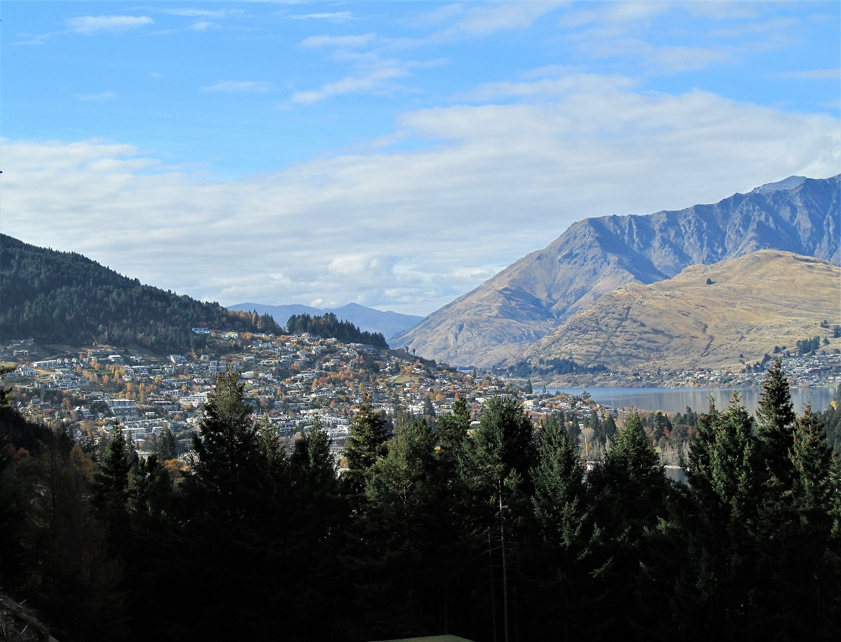first solo trip Queenstown New Zealand