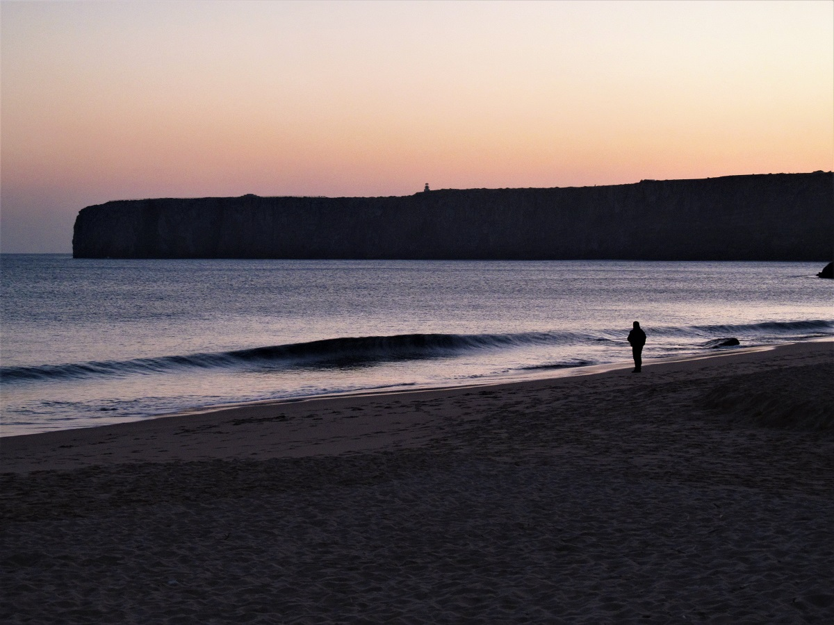 first solo trip Sagres Portugal