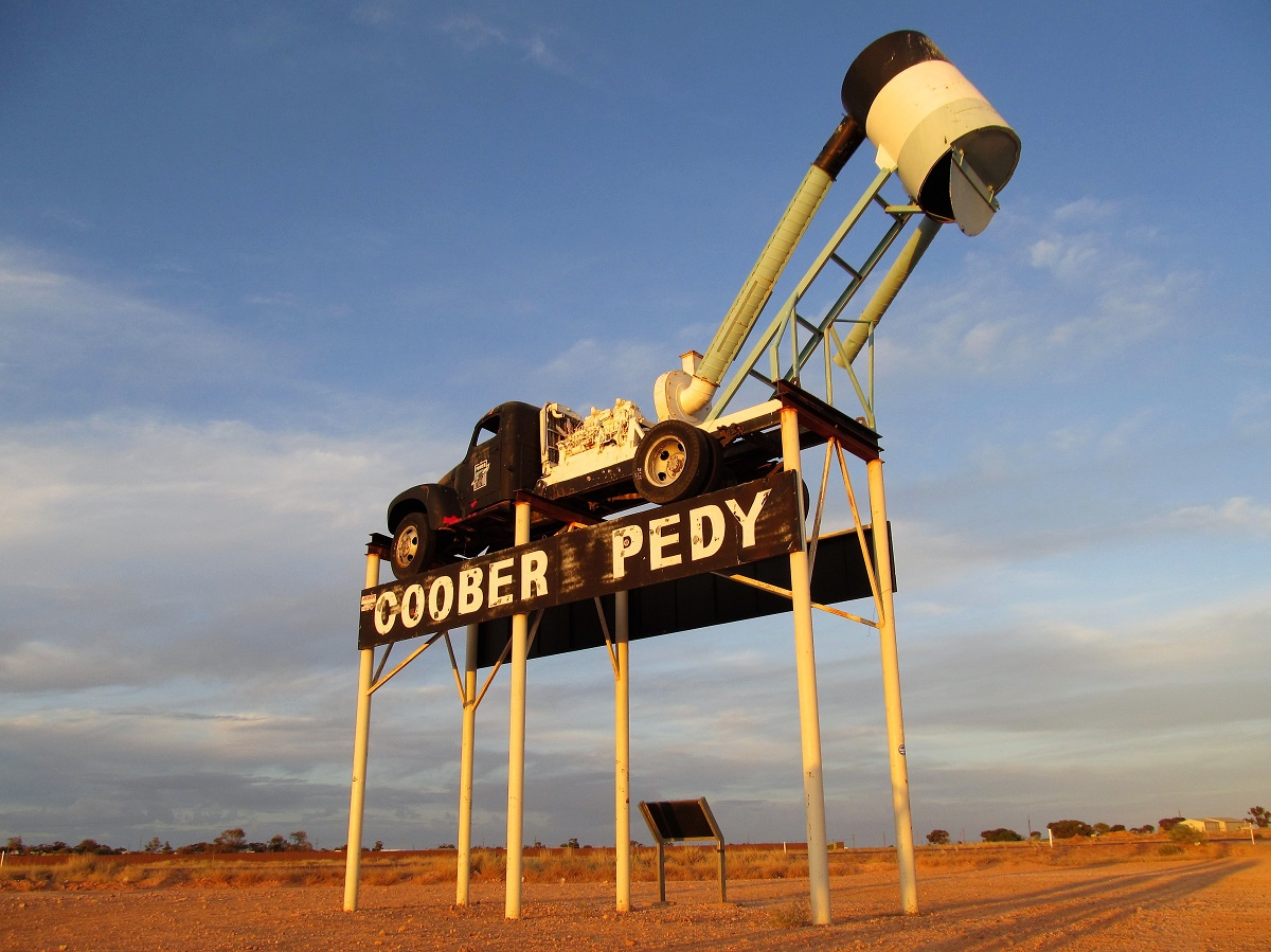 Adelaide to Alice Springs Coober Pedy
