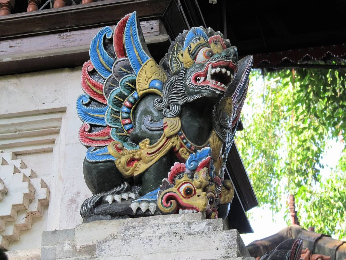 A statue in Bali. Indonesia is a bucket list travel destination for many travellers.