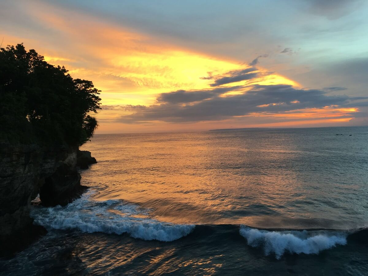 Mahana Point Nusa Ceningan sunset