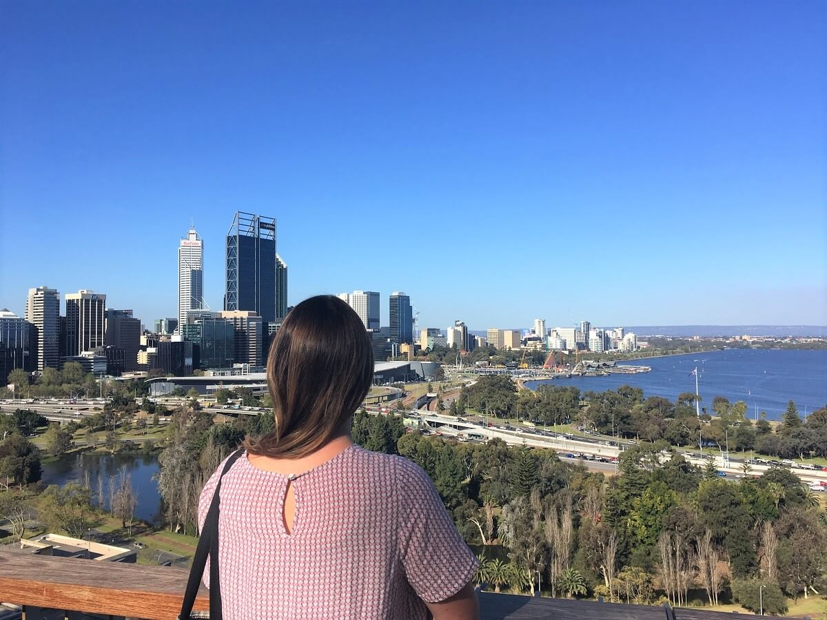 Find myself travelling Perth city Australia