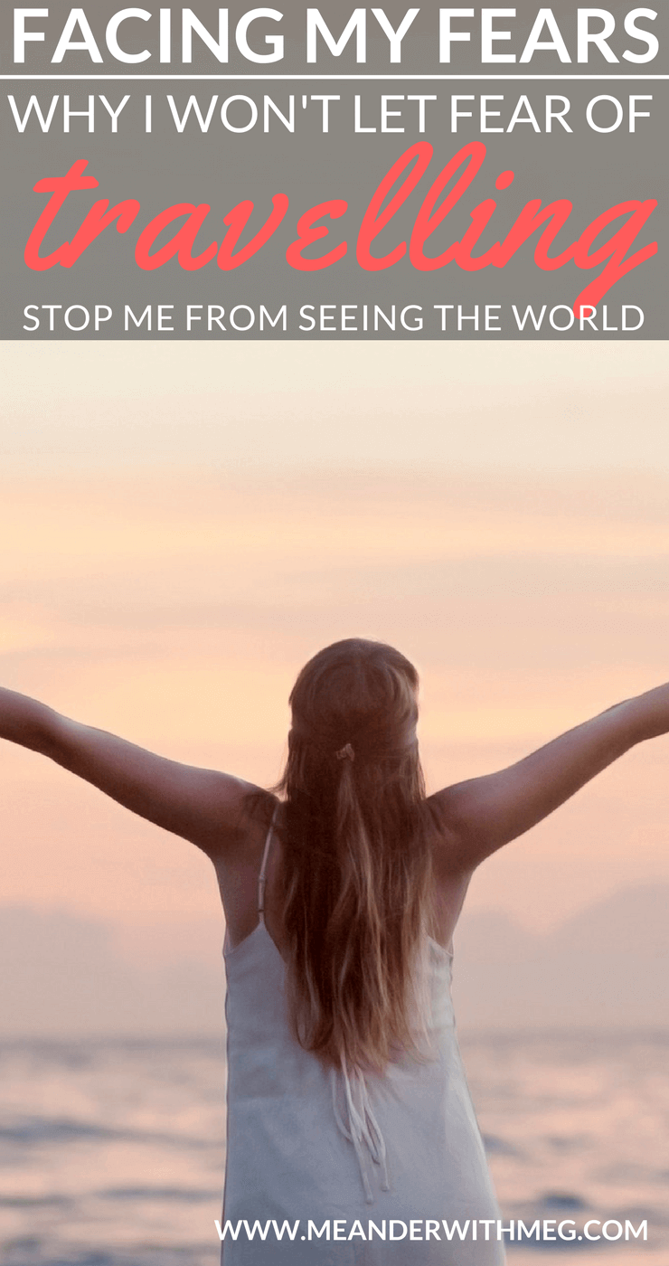 Fear of travel is becoming a more common topic. In this article I write an open letter to my travel fears to explain why I will not be afraid to travel solo. Solo travel   Travel tips   Solo female travel   Backpacking   Travel guide   First time travel   Fear of flying   Overcoming anxiety   Fearless   Wanderlust   Motivational